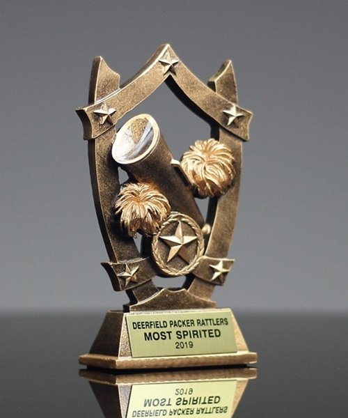 Picture of Star Shield Cheer Trophy