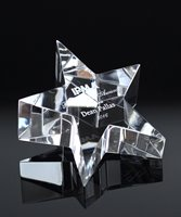 Picture of Crystal Star Paperweight