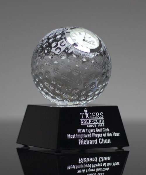 Picture of Crystal Golf Ball Clock