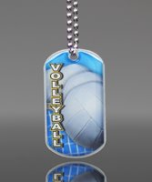 Picture of Volleyball Dog Tag