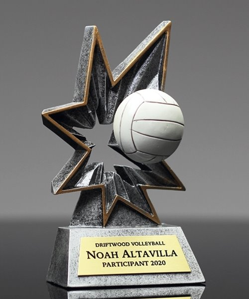 Picture of Bobble Action Volleyball Award