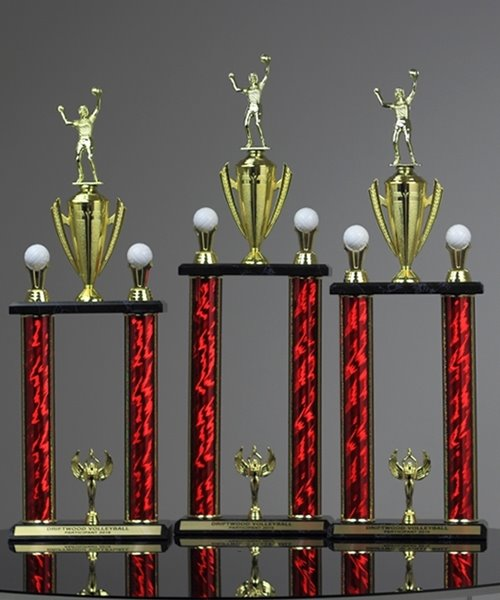 Picture of Double Post Volleyball Trophy