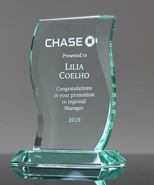 Picture of Aspire Jade Crystal Award