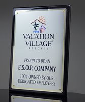 Picture of Large Format Ebony Plaque