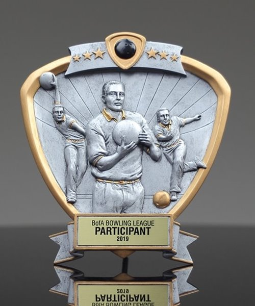 Picture of Bowling Shield Trophy