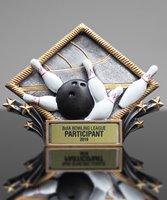 Picture of Bowling Diamond Plate Award