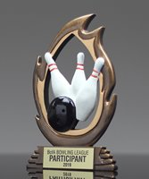 Picture of Bowling Flame Trophy