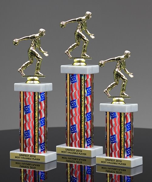 Picture of Americana Bowling Trophy