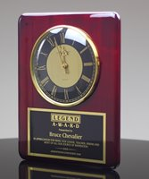 Picture of Highly Polished Rosewood Wall Clock
