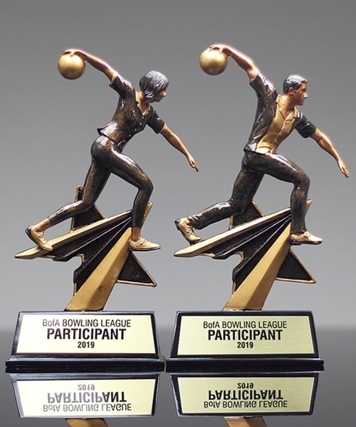 Picture of Star Power Bowling Trophy