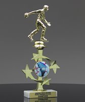 Picture of All-Star Bowling Trophy