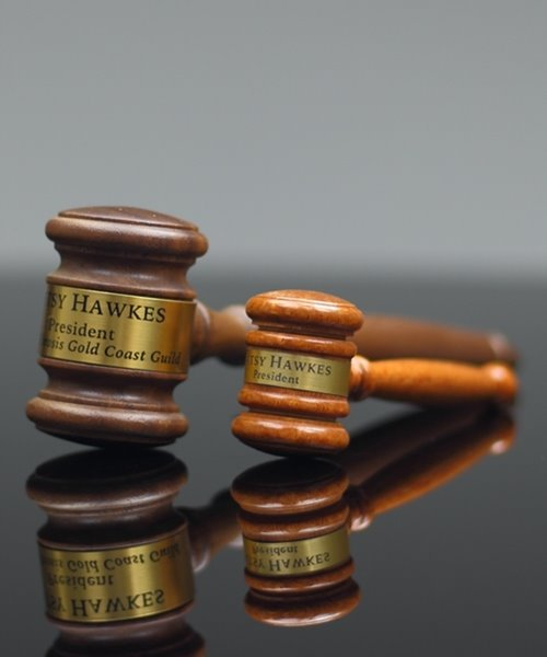 Picture of Miniature Walnut Gavel