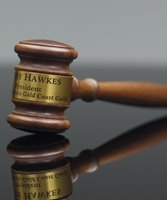Picture of Genuine Walnut Gavel