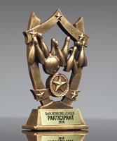 Picture of Star Shield Bowling Trophy