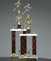 Picture of Two Post Wood Column Trophy