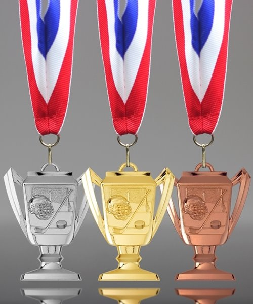 Picture of Hockey Trophy Cup Medals