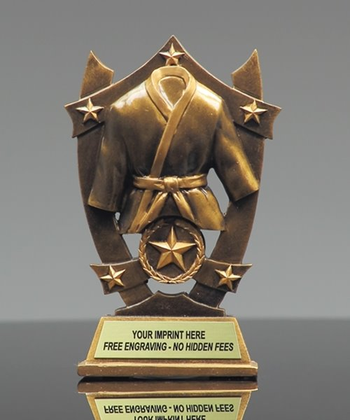 Picture of Star Shield Martial Arts Trophy