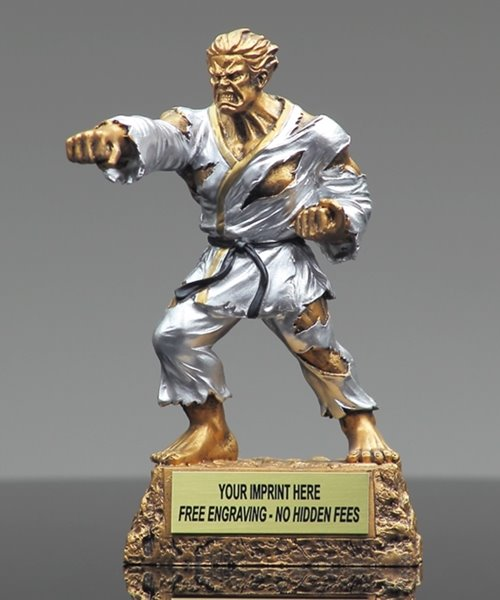 Picture of Martial Arts Monster Trophy