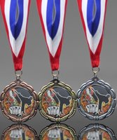Picture of Epoxy-Domed Karate Medals