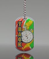 Picture of Track Theme Dog Tag