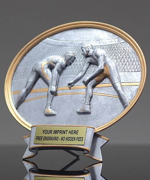Picture of Silverstone Oval Wrestling Award