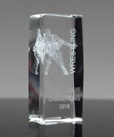 Picture of Collegiate Series 3D Wrestling Crystal