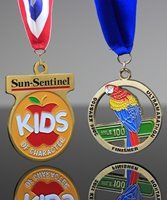 Picture of Custom Color Filled Medals