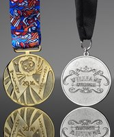 Picture of Custom Die Cast Medals