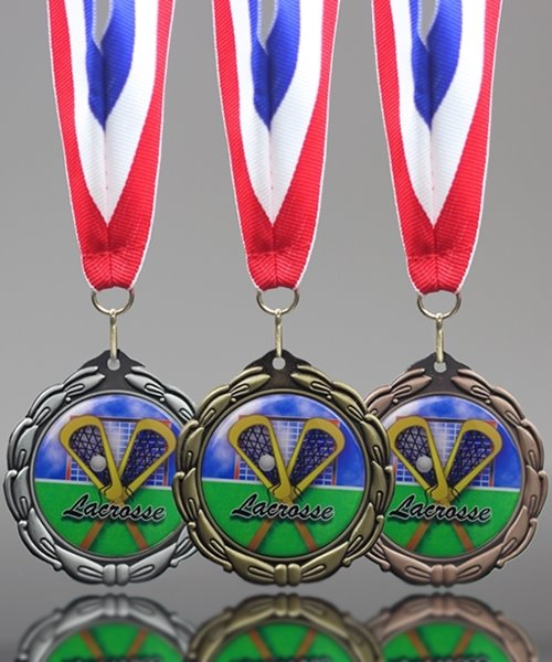Picture of Epoxy-Domed Lacrosse Medals