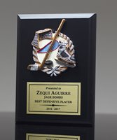 Picture of Color Theme Hockey Plaque