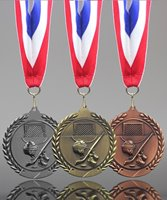 Picture of Traditional Hockey Medal