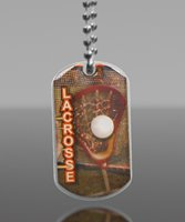 Picture of Lacrosse Dog Tag