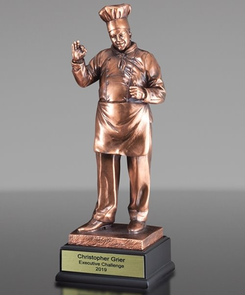 Picture of Modern Chef Sculpture