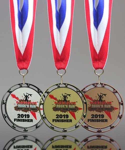 Picture of Custom Star Medals