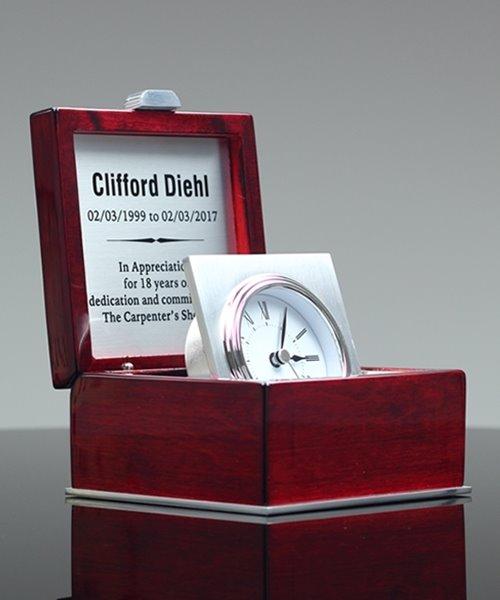 Picture of Mahogany Box Clock
