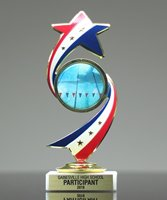 Picture of Stars & Stripes Insert Trophy