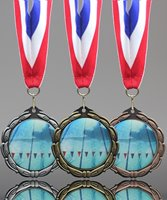 Picture of Epoxy-Domed Swimming Medals