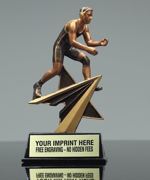 Picture of Star Power Wrestling Trophy