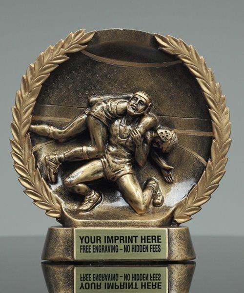 Picture of Bronzestone Wrestling Award