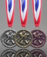 Picture of Classic Wrestling Medals