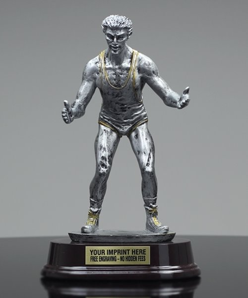 Picture of Classic Silverstone Wrestling Trophy