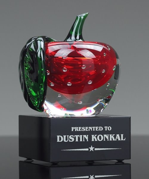 Picture of Art Glass Apple