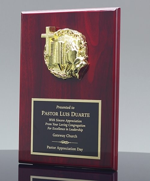 Picture of Pastor Recognition Award