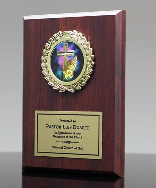 Picture of Pastor Appreciation Plaque w/Mylar