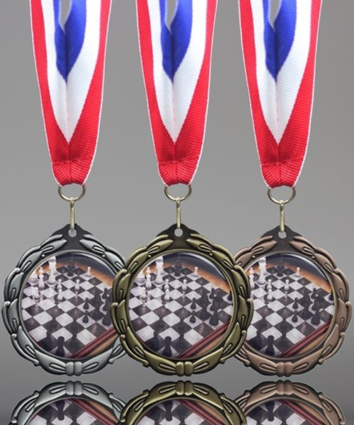 Picture of Epoxy-Domed Chess Medals