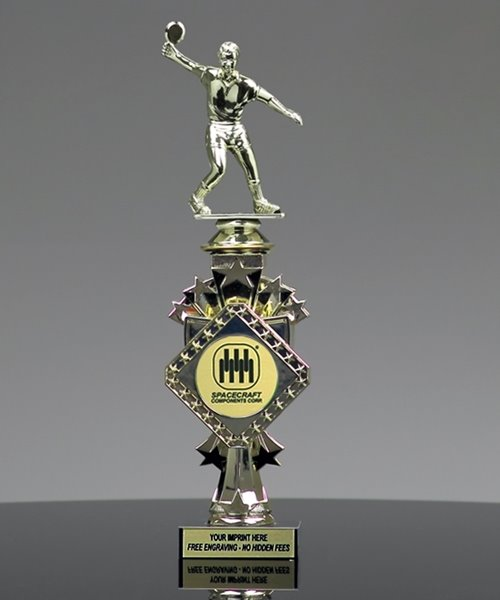 Picture of Star Ping Pong Trophy
