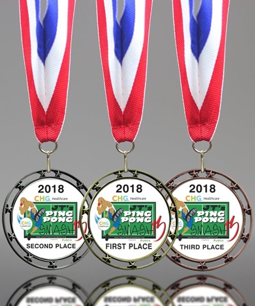Picture of Custom Ping Pong Medals