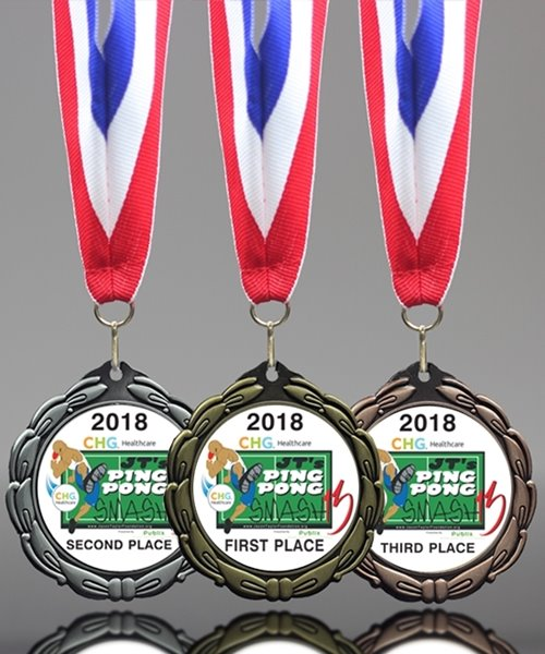 Picture of Deluxe Ping Pong Medals