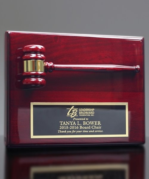 Picture of Gavel Plaque