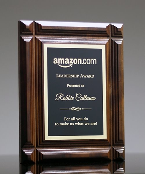 Picture of Cross Groove Plaque